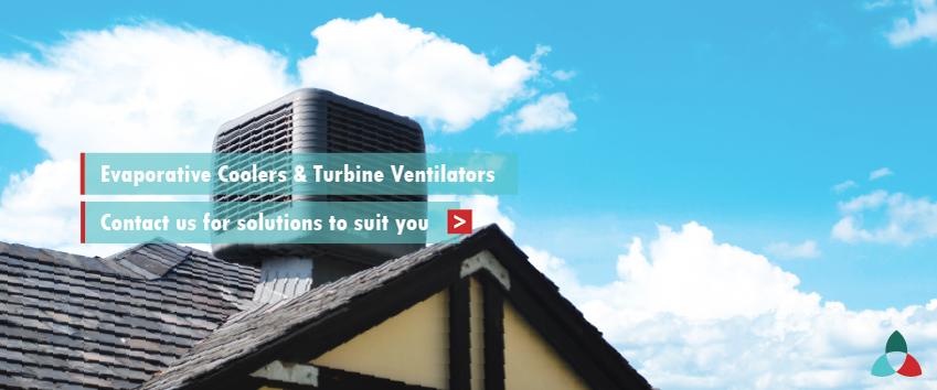 Evaporative Coolers & Turbine Ventilators