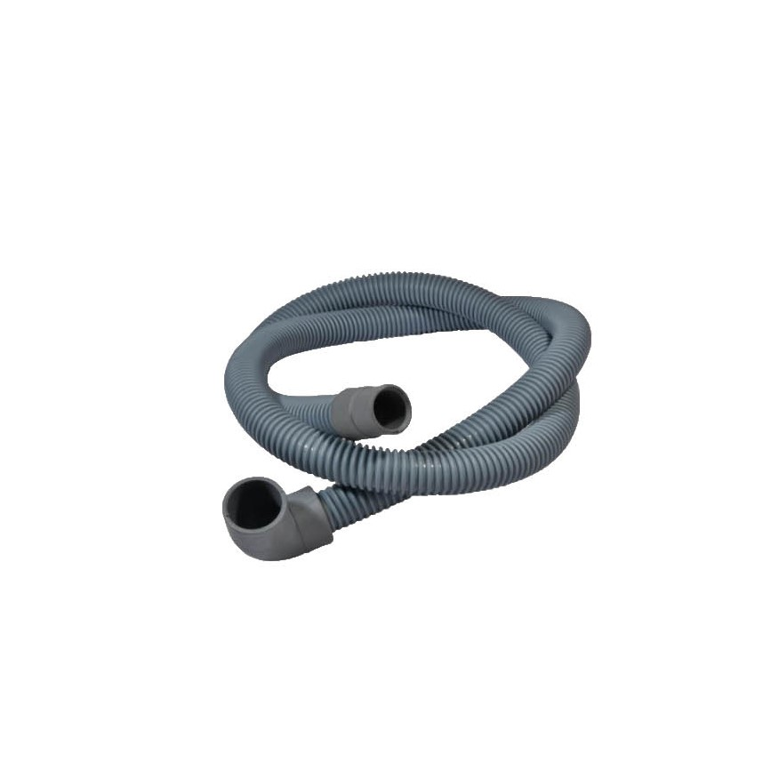 2.0M Crush Proof Drain Hose 22mm/90Degree End