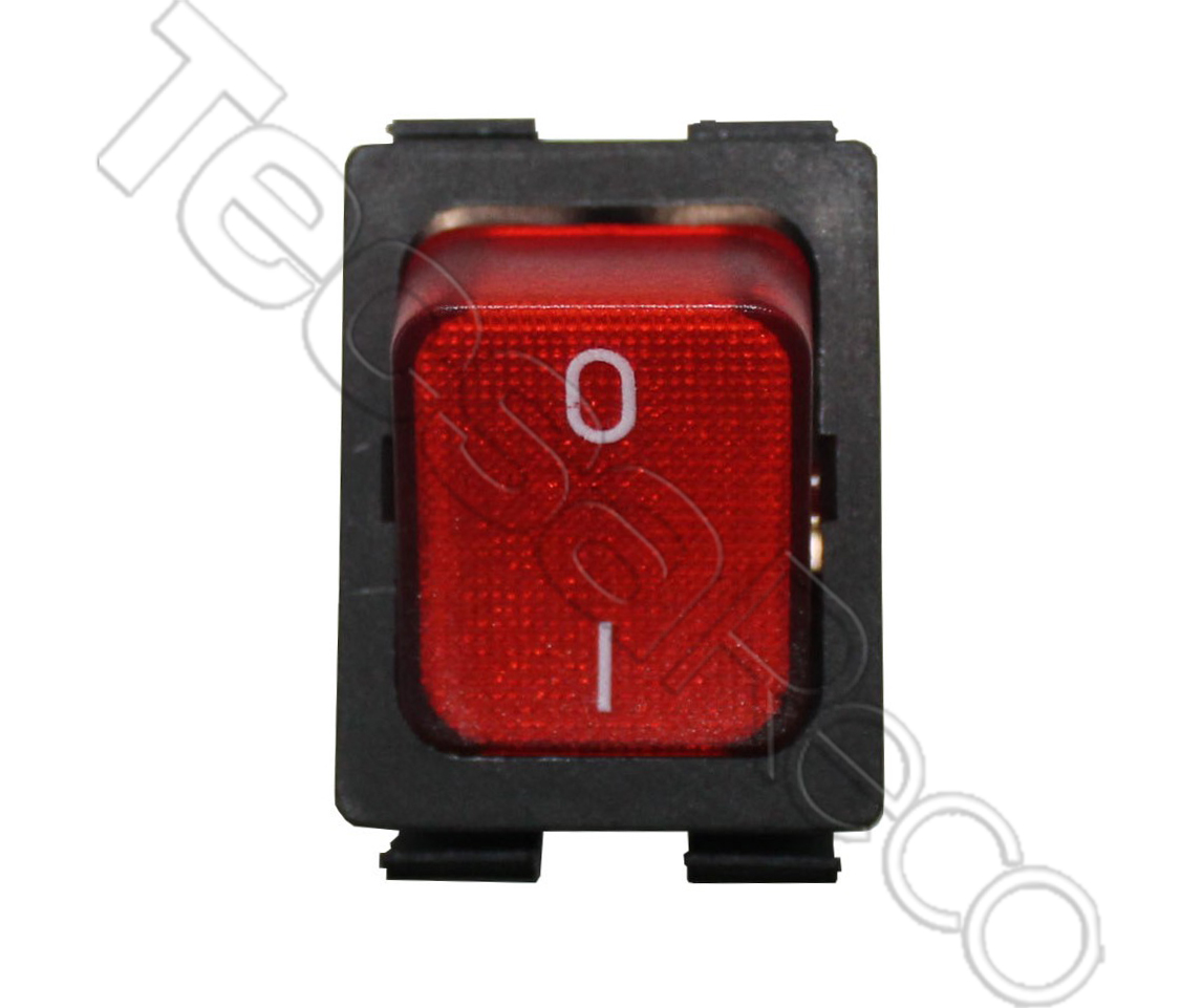 2 Pole On/Off Switch (Red/Black)